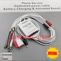 Multifunction Professional Supply Curren apple battery service - NEW GS301 phone service Dedlcated power cable battery charging activated support for Iphone S SP G PLUS Samsung and other