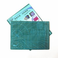 Wholesale PVC Cutting Mat A4 Durable Self healing Cut Pad Patchwork Tools Handmade Diy Accessory Cutting Plate Dark Green cm
