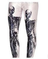 Wholesale Digital printing Leggings human skeleton Leggings
