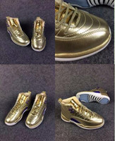 Wholesale Air Retro XII Pinnacle Metallic Gold Man Basketball Shoes s AAA High Quality Size USA Sneaker