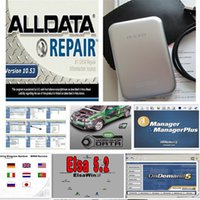 Wholesale Hot Selling Alldata work on XP WINDOW bit system and mitchell on demand software in free DHL ship