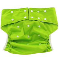 Wholesale 1pcs New Arriving Adult Cloth Diapers Washable Pocket Adult Pants Resuable Adult Diaper with Colors
