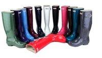 Wholesale HUNTER WELLINGTON TALL MATTE GRAPHITE GRAY quot RAIN BOOT SIZE
