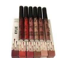 Wholesale HOT2016 Kylie Lip Kit by kylie jenner Lipstick Kylie Lip Gloss liquid lipstick Matte colors kylie lipgloss Make up DHL