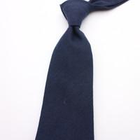 Precio de Lazo de lana-20wsq de la historieta de los hombres de los estudiantes de los hombres de los anillos de la anchura de la caja de regalo del color puro británico negro del invierno 20wsq lazo único profesional de las lanas del slimdress del gravata