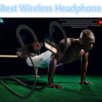 Wholesale New Sport Stereo Headset Bluetooth Earphones For iPhone Mobiles In Ear Noise Cancelling Sweatproof Bluetooth Headphone CSR8635