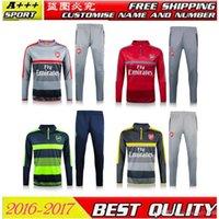 arsenal suit jacket - 2016 new Top Thai quality Arsenal Blue jerseys tracksuit Football Shirt Training Suit soccer Jacket