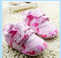 Wholesale Baby baby shoes toddler soft bottom shoes pink pu female baby shoes pair
