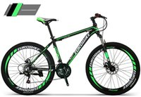 Wholesale Aubaike aluminum alloy speed double disc mountain bike commuter models damping mountain students bicycle