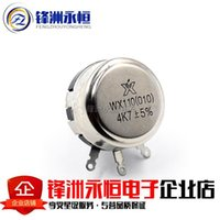 Wholesale WX010 WX110 K7 K Single Circle The Wound Potentiometer Adjustable Resistance W Potentiometer