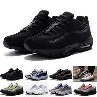 Wholesale 2016 high quality Air OG Greedy retro Casual Shoes Men Max max OG Neon Green Black Men Kids shoes