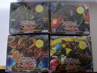 Wholesale Yugioh Zexal Duel cutting ferrule Deck Protector Monster Printing Trading Card Game Yu Gi Oh Duel Cards in english Protectors toy DHL C1135