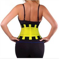 Wholesale Thermo Hot Belt Power Body Shaper Girdle Belt Waist Cincher Underbust Control Corset Firm Waist Trainer Slimming Belly colors by DHL