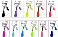 Wholesale New Hot Ladies Makeup Eye Curling Eyelash Curler with comb Eyelash Curler Clip Beauty Tool Stylish DHL free Top Quality