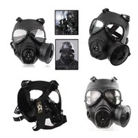 airsoft green gas - M04 Tactical Gas Mask Full Face Protective Security Supplies for Cosplay Airsoft Sports