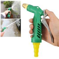 accessories water pressure - New Household Water Gun Car Cleaning Device Car Wash Washer Nozzle High Pressure Head Machine Accessory Tool Portable Adjustable