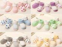 Wholesale 2017 winter cotton baby socks Flanging upset Let go terry socks years old socks kids newborn children cute sock