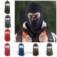 Wholesale Fedex DHL Free Outdoor Face Mask Black Colorful Cycling Bike Motorcycle Windproof Hat Warm Balaclava Winter Face Ski Snowboard Mask Z632