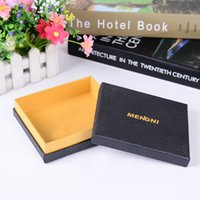 Wholesale Black car inside pandent jewelry packing box beads arts and crafts bracelet heaven and earth cover accessories box
