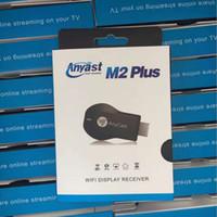 ANYCAST M2 PLUS Airplay inalámbrico Wifi Display TV Dongle receptor DLNA fácil compartir Mini TV Stick HD 1080P para HDTV Android IOS 10.3 WINDOWS