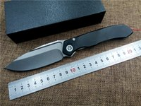 aluminum working tools - Wild boar Works Microtech ANAX ball bearing tactical folding knives D2 blade aluminum Alloy handle camping survival pocket knife EDC tool