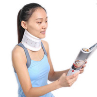 adjustable cervical collar - Cervical Collar Neck Brace Support Strap Height Adjustable