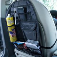Wholesale 1pc Auto Car Seat Organizer Holder Multi Pocket Travel Storage Bag Hanger Vehicle Backseat Organizing Box hot selling