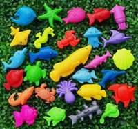 Wholesale Children s magnetic fishing toys Good quality solid floating fish