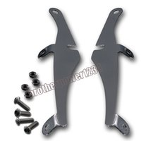 Wholesale Chrome Windshield Windscreen Bracket Mounting For Harley Davidson Sportster XL883 XL1200