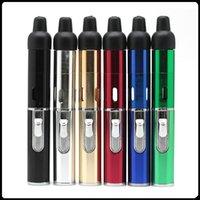 Wholesale Electronic Lighter click N Vape Smoking Metal pipes Smoking dry herb Vaporizer tobacco
