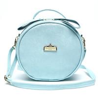 Wholesale New Cosmetic Bag Round Mini Women Makeup bag Travel Portable Handbag Crossbody Bags Multi function cosmetic bag