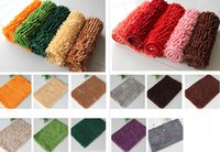 Wholesale MAO cm long lazy regular chenille door mat antiskid vacuuming phone wash can be the sitting room is the room that defend bath mat cm