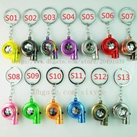 Wholesale 13 colors Turbo Key Chain LED USB Brake discs USB Rechargeable with LED light Portable Lighting electric torch flashlight DHL