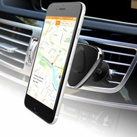 Wholesale Car Mount Air Vent Magnetic Car Mount Holder for Cell Phones and Mini Tablets with Fast Swift SnapTM Technology Magnetic Cell Phon