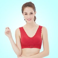 apparel special sizes - 2016 Hot sale Bras sexy Lace edge gather underwear Sports vest special apparel with multiply colors