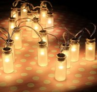 battery cup warmer - LED String light Dailyart Vintage Clear Glass Jar LED String Lights Mason Jar Fairy Lights Battery Operated ft