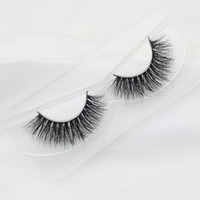 Wholesale 13 mm OEM Private Logo Acceptable Natural D Mink Hair Fur Eyelashes Messy Eye lash Extension Sexy Eyelash Full Strip Eye Lashes ED3D5