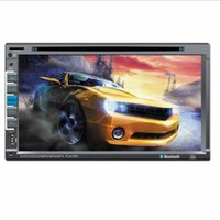 Wholesale 6 inch universal multimedia Car DVD player with USB bluetooth support dvd vcd cd mp5 mp4 mp3