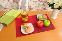 Wholesale New Fashion PVC Dining Table Placemat Europe Style Kitchen Tool Tableware Pad Coaster Coffee Tea Place Mat