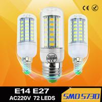 Wholesale E27 E14 G9 V LED lamps W W W W W W W W SMD LED Corn light Bulb Candle light LED