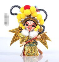 Wholesale Beijing yun to people Peking Opera folk arts and crafts gift package mail doll to go abroad to send foreigners characteristics AAA