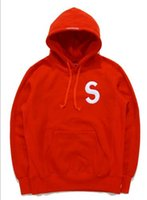 Wholesale Popular logo sup shawn yue paragraphs with s men and women with embroidery students sweethearts outfit hedge hooded fleece kancye jacket