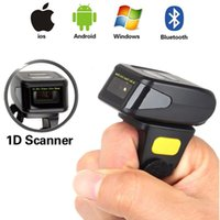 Wholesale Handheld Mini Bluetooth Ring Finger Barcode Scanner Bar Code Reader For Android iOS