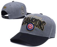 away box - New MLB Chicago Cubs World Series Champions Sports Caps Front Logo Alternate Adjustable Hats wicks away Adult Baseball Caps With Box