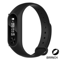 Wholesale NEW OLED display Heart Rate Monitor Smartband Health Fitness Tracker Fitbit for Android iOS