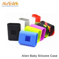 Silicio w Baratos-Nuevo colgante / caja / cubierta / cubierta del silicón de la modificación de la caja del kit 85w TC del AL85 del bebé ALOK para la mini extranjera mini 85 w AL85