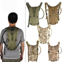 backpack bladders - Tactical Hydration Pack with L Water Bladder Water Backpack Bag for Hunting Climbing Running and Hiking Bottle Pouch