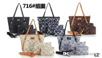 Wholesale 2017 New C0ACH PU tote bag with women coin purse custom made fashion pu tote colorful women handbag bag