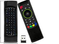 Télécommande pour tablette android France-FM5s mini clavier sans fil Six Axis Gyroscope 2,4 GHz Fly Air souris Remote Control IR apprentissage pour S912 Android TV Box tablette PC PK MX3 T3