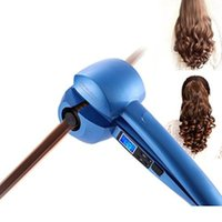 auto weight - Hair Curler Iron Machine Magic Full Automatic LCD Display Wand Curls Herramientas para estilizar el cabello Curtidor de pelo mágico auto